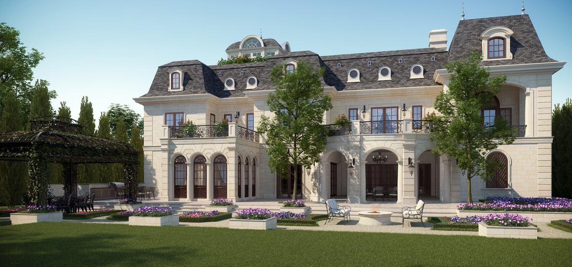 Exterior: Here Are Some Amazing Renderings Of Mansions Done By CG