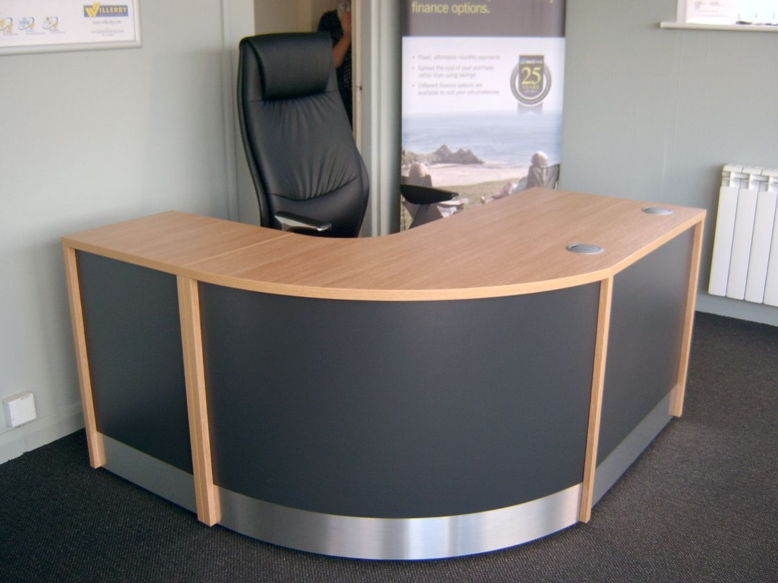 Flex Compact Reception Desk Just The Job For A Small Area