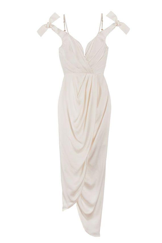23++ White drape dress ideas in 2021
