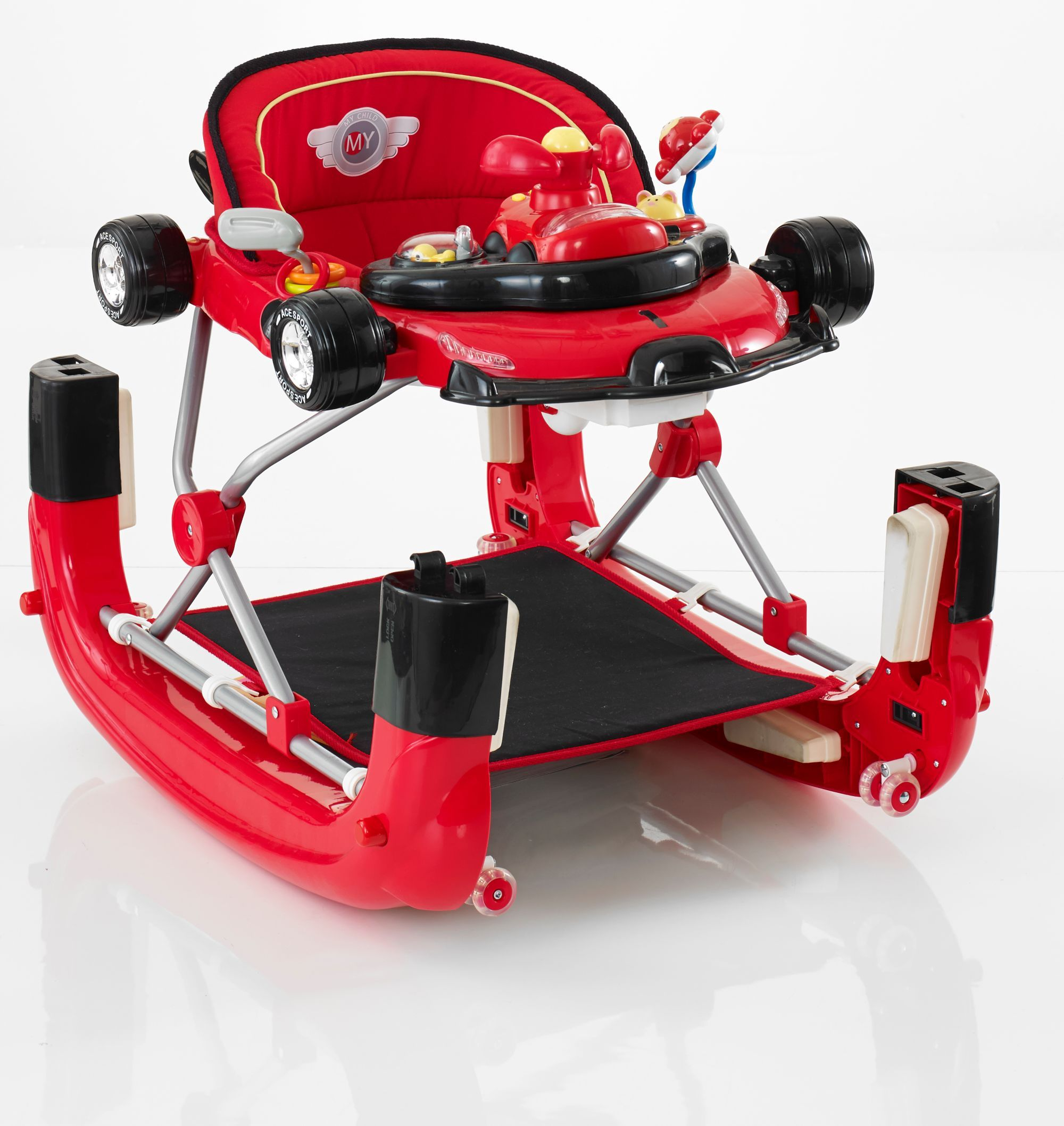 My Child F1 Walker Red Baby swings, bouncers, Children