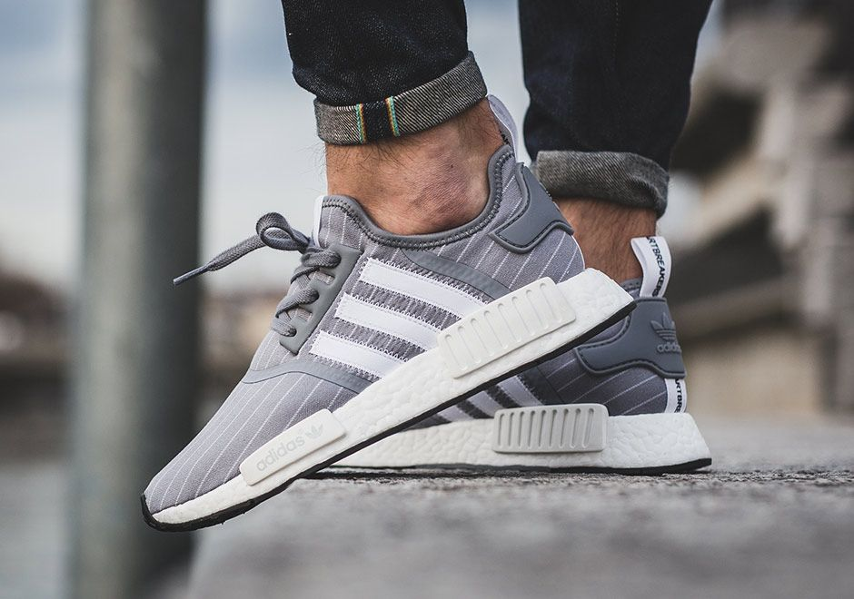 huge discount 0e768 85d7a Bedwin  The Heartbreakers x Adidas NMD - Pinstripe Grey