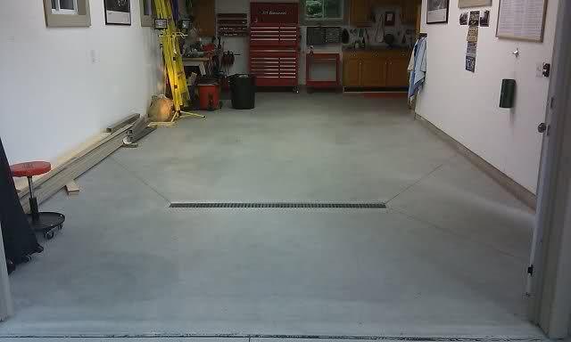 Install A Garage Floor Drain Floor Drains Wet Room Flooring