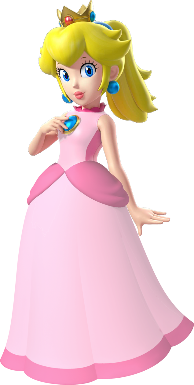 mario princess peach Super