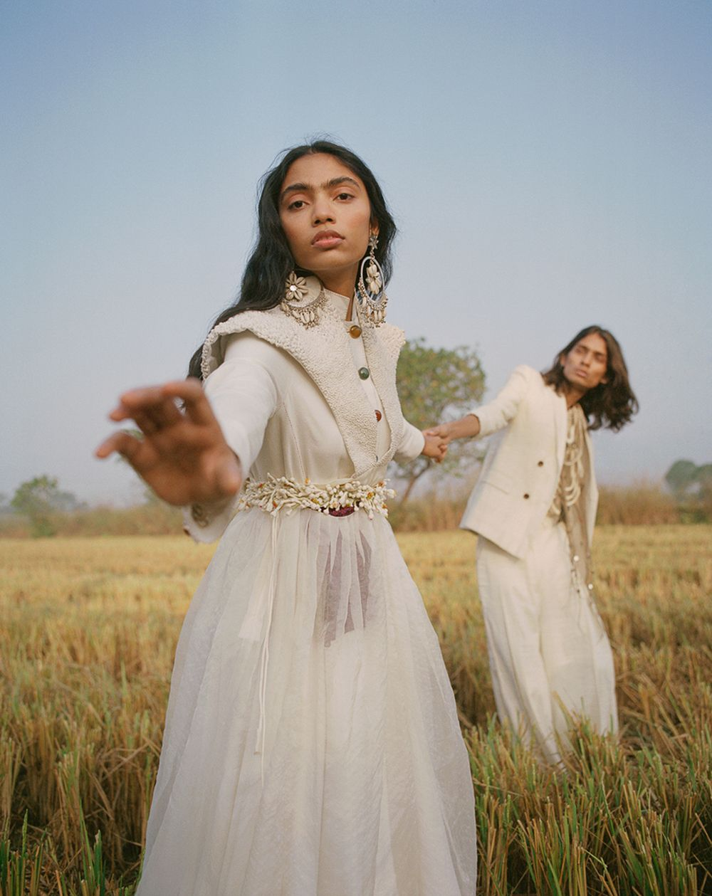 Justin Polkey Latest Editorial for Vogue India | Fashion Editorials