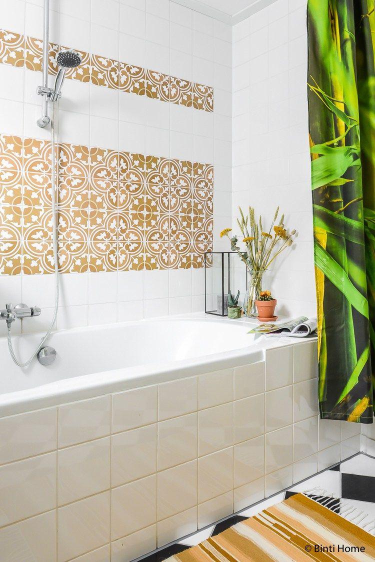 Tegelstickers voor een oosterse sfeer in de badkamer | nieuwe ideeen ...