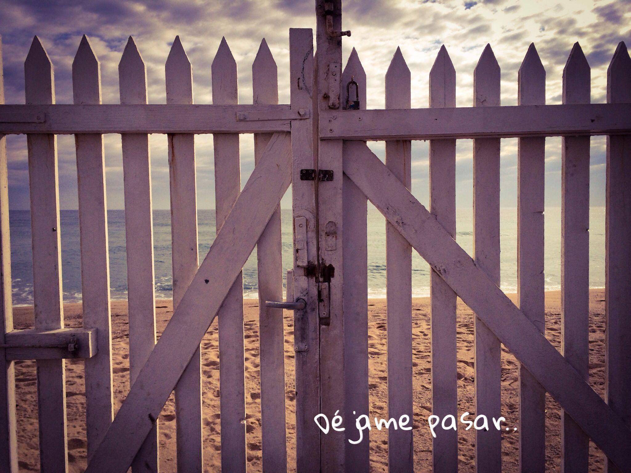 No cierres la puerta.. Nunca sabes quien puede entrar..