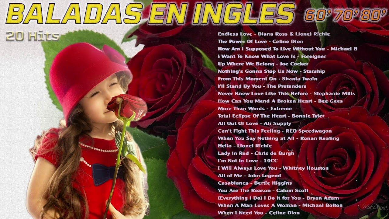 Baladas En Ingles Clasicos En Ingles 70 80 90 Musica
