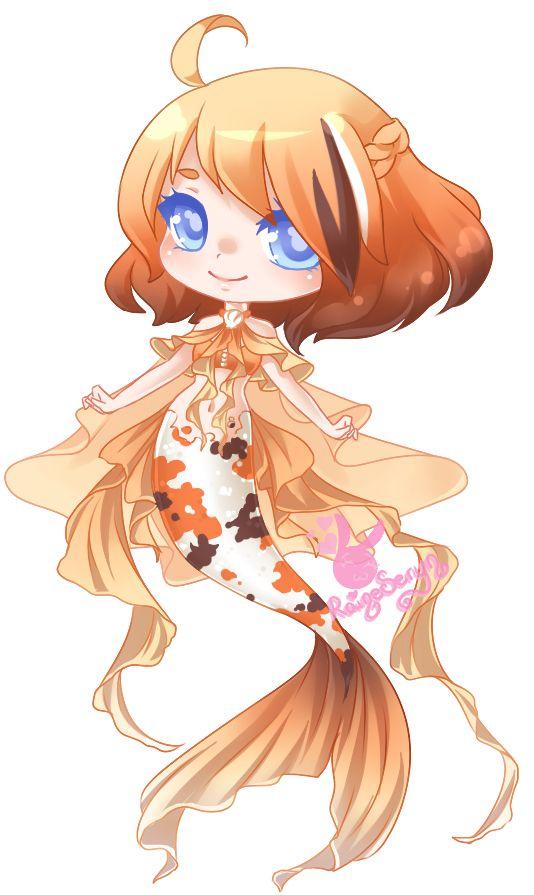 Mermaid With Images Anime Mermaid Cute Anime Chibi Cute