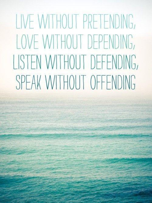 Live, Love, Listen & Speak