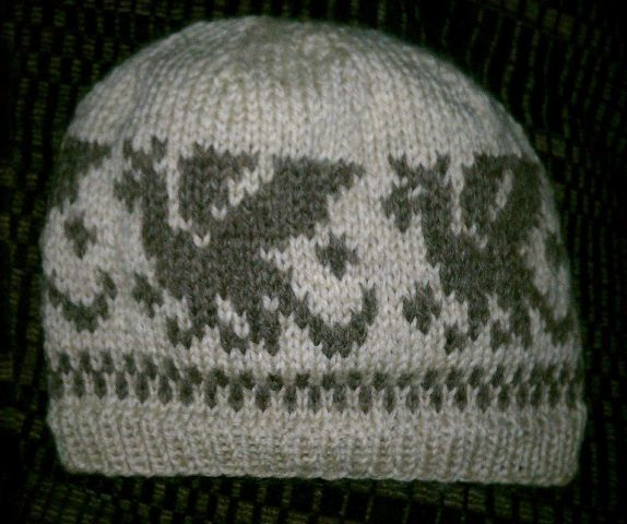 Thankful 4 Wool: The Fisherman's Wool Knit Dragon Hat - Knitting ...