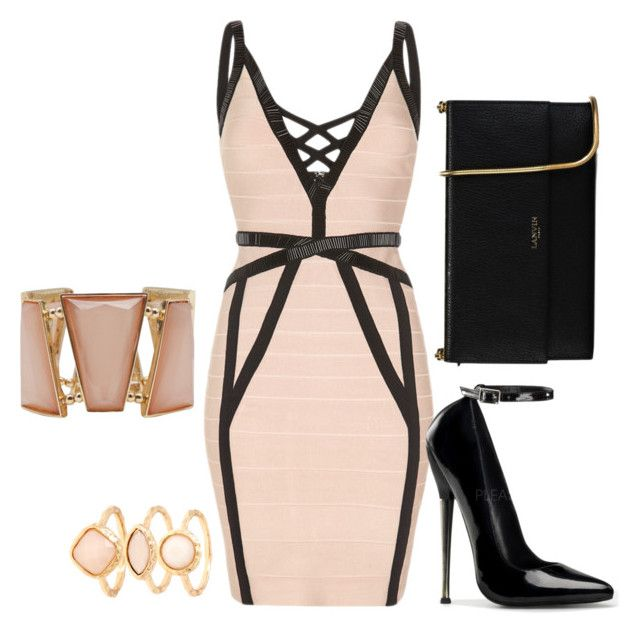 """""""Untitled #22"""" by semic-merisa ❤ liked on Polyvore featuring Lanvin, Monsoon and M&Co"""