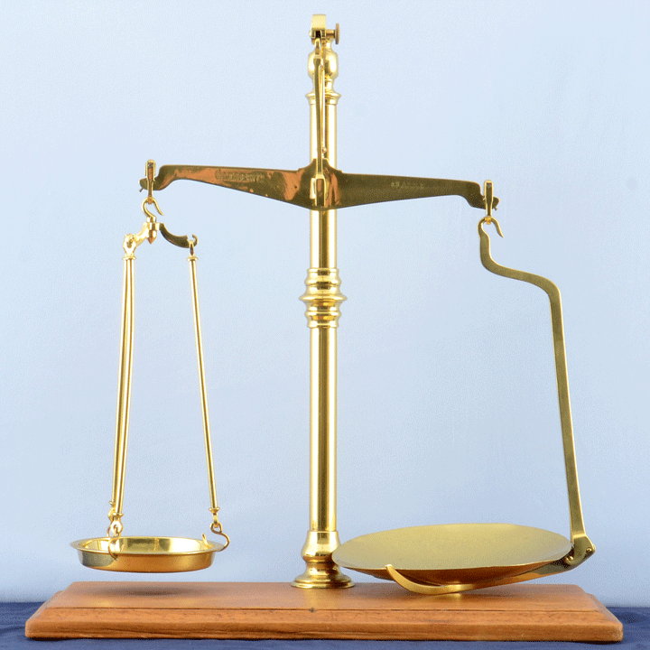 English Br Balance Beam Scale