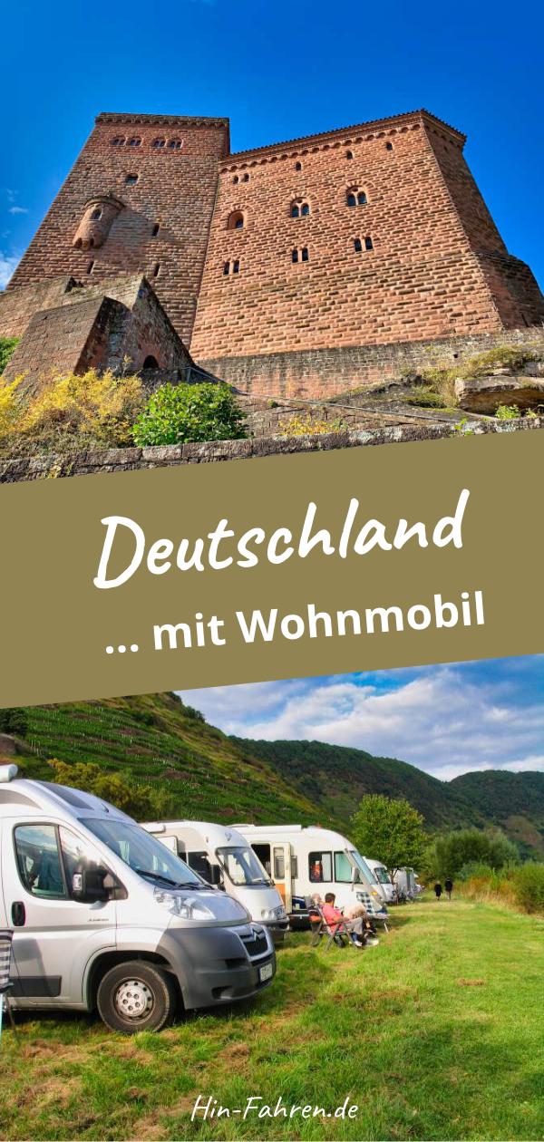 Super Ziele mit Wohnmobil in Deutschland