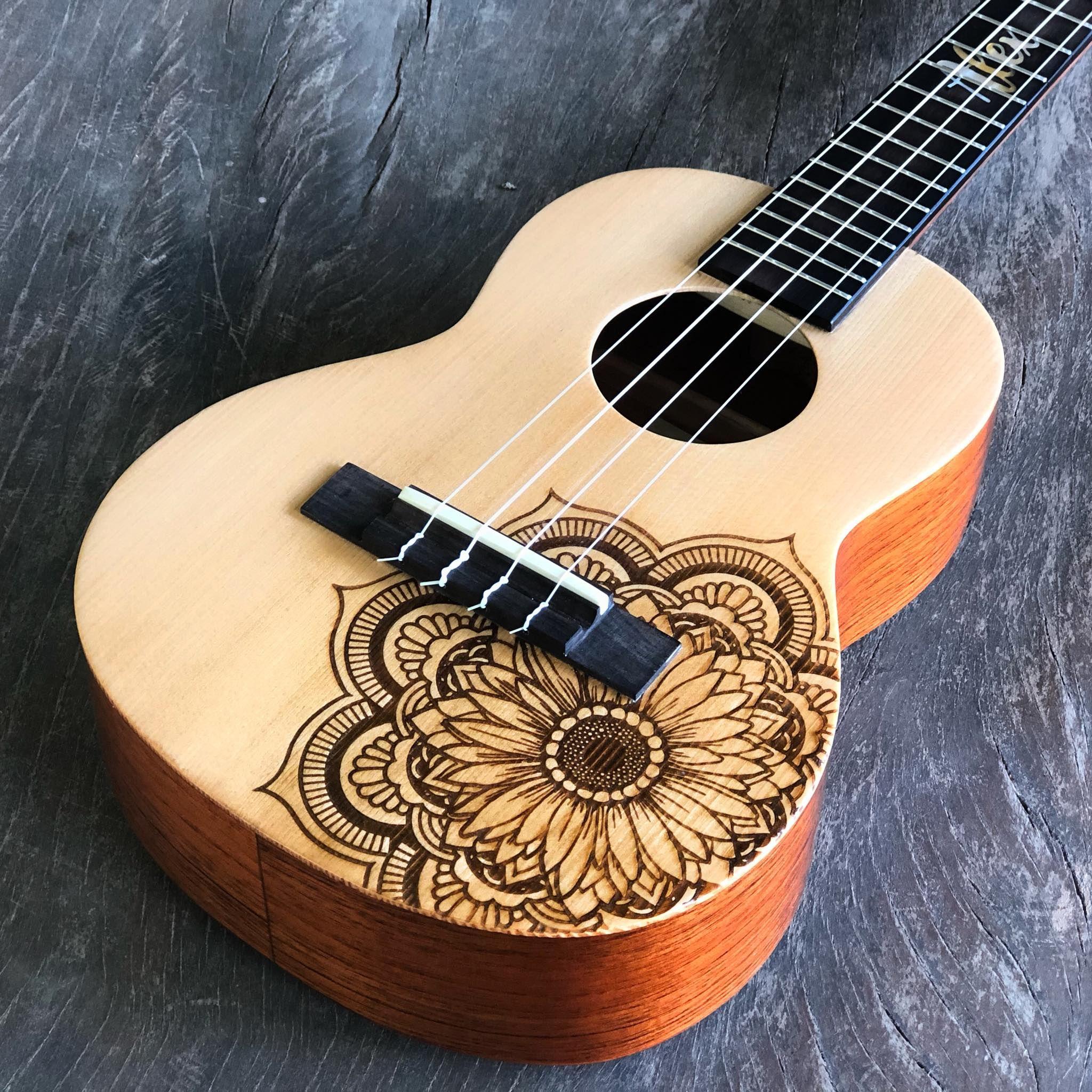Custom Made Ukelele Painted Ukulele Ukelele Instruments Art