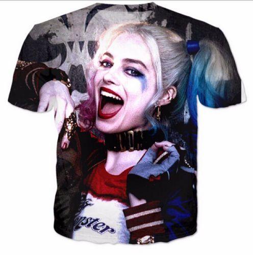 28314d18c9fe Newest Fashion Women Men Harley Quinn Funny 3D Print Casual T-Shirt As31   Mensoutfits