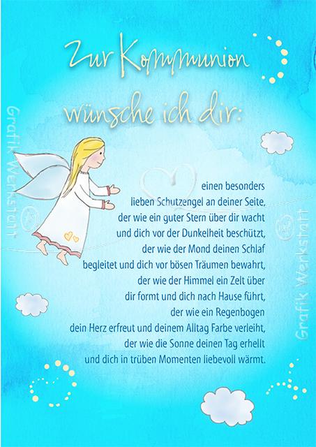 Zur kommunion doppelkarten grafik werkstatt bielefeld kommunion first communion - Geschenke zur jugendweihe von den eltern ...