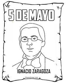 Batalla de Puebla para colorear | 5 de mayo, Batallas ...