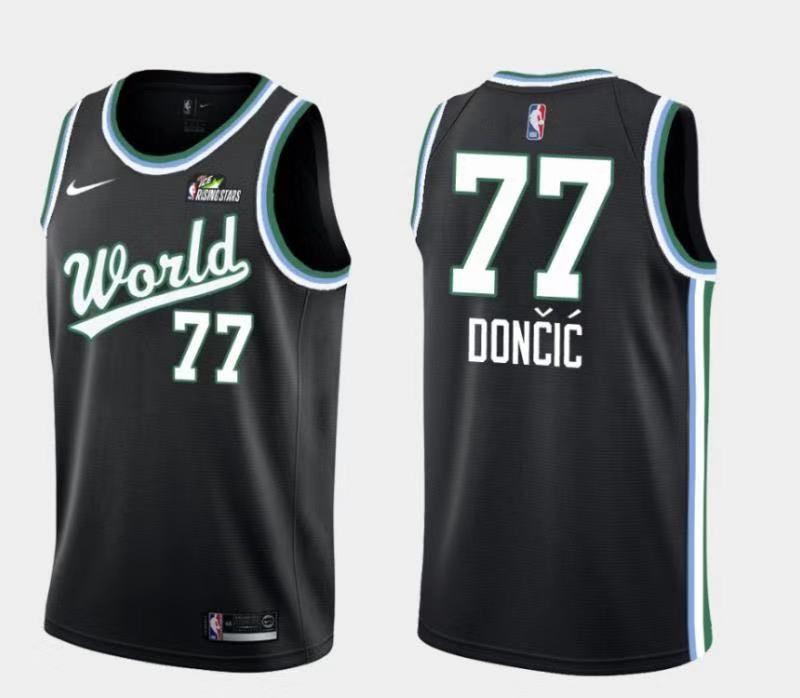 f1be2518e88 Dallas Mavericks - All-Star Game - Black Green -  77