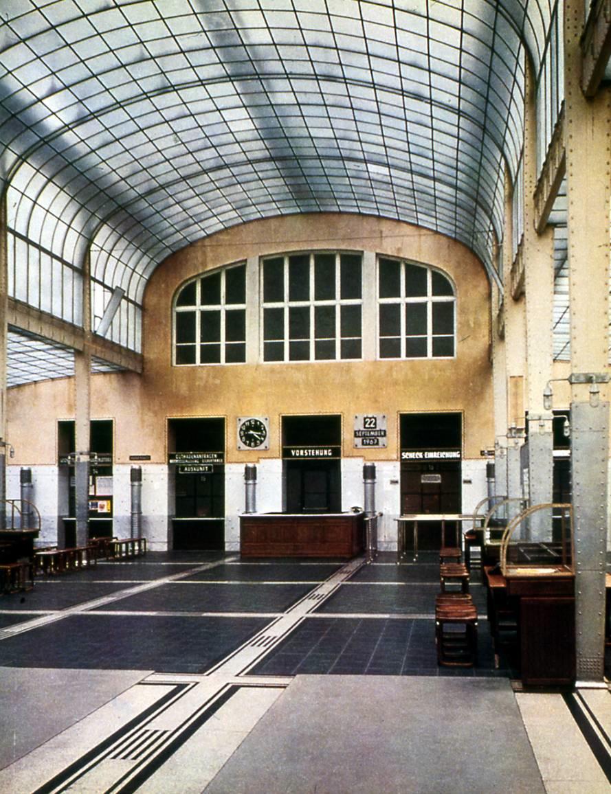 Otto Wagner Post Office Savings Bank 1903 1905 Vienna