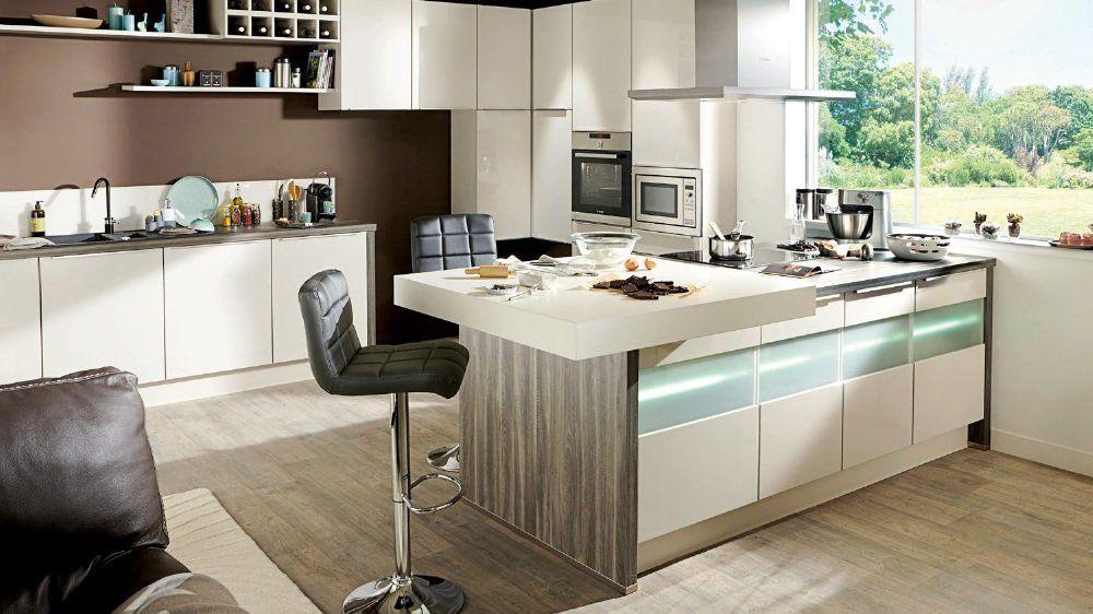 Le ons d 39 lot central par conforama maison inspiration d co pinterest conforama ilots for Ilot central cuisine conforama
