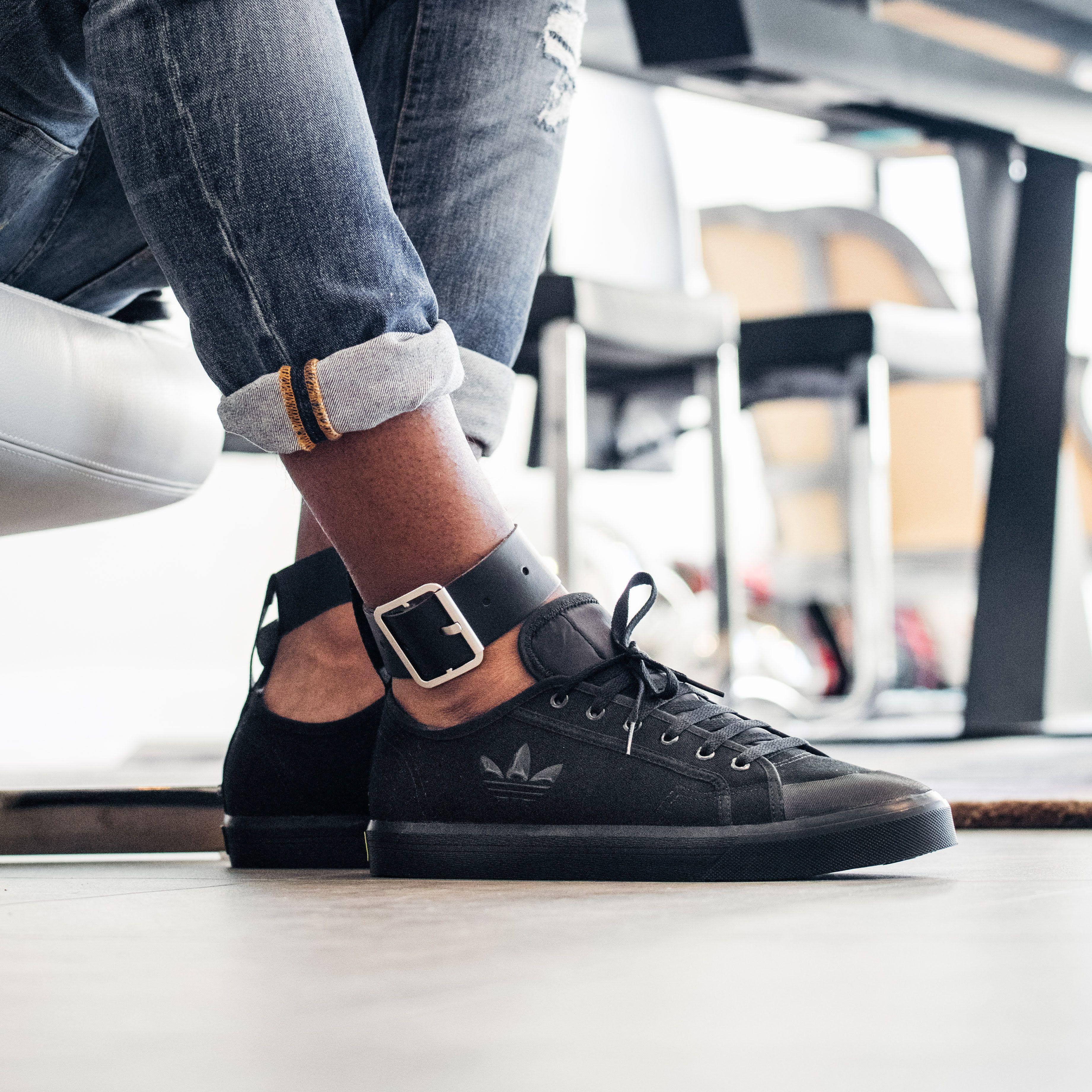 Raf Simons x adidas Spirit Buckle: Black