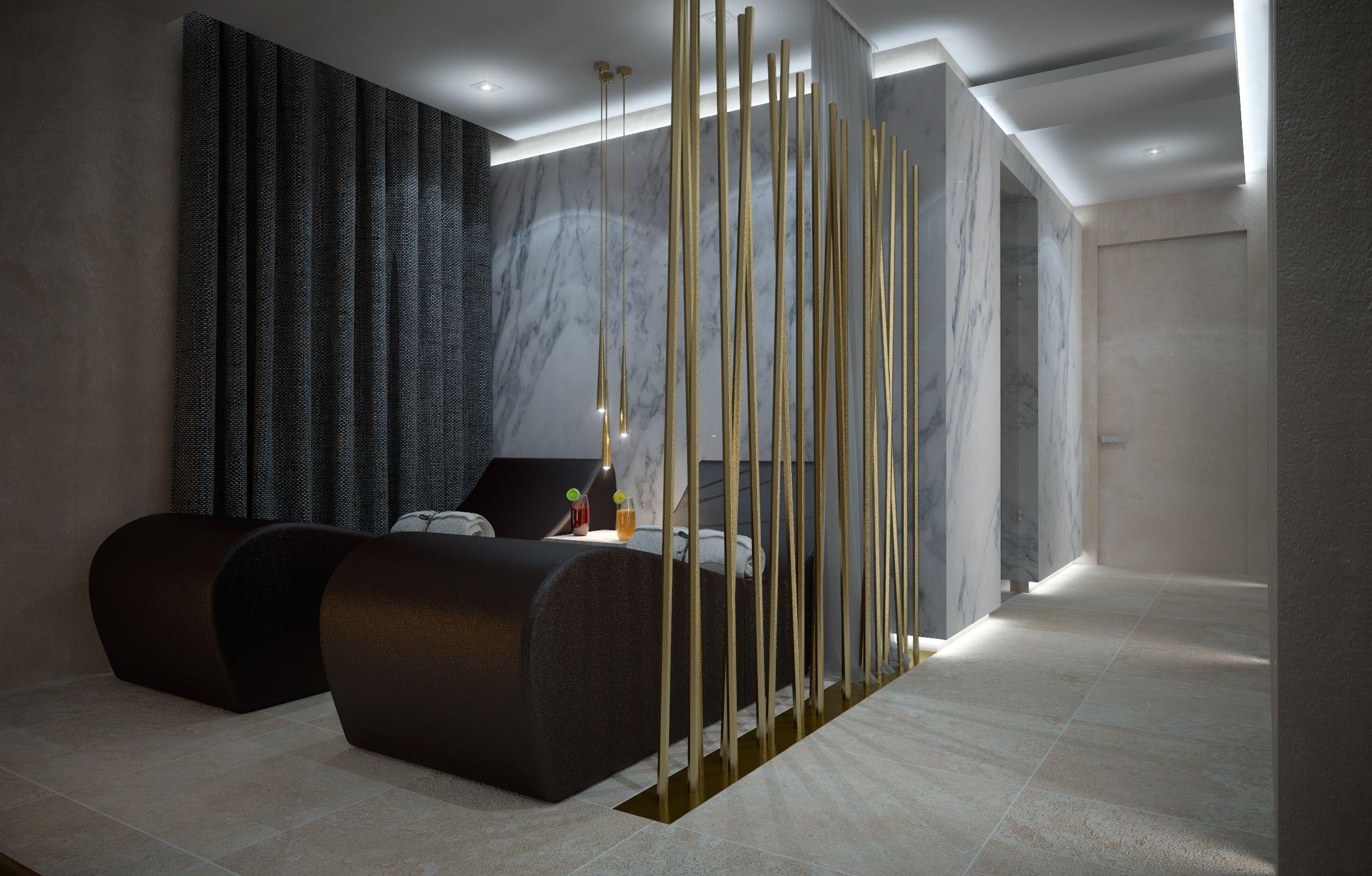 Salon of beauty. Spa designed by Arno Architetture. Starlongue by Starpool