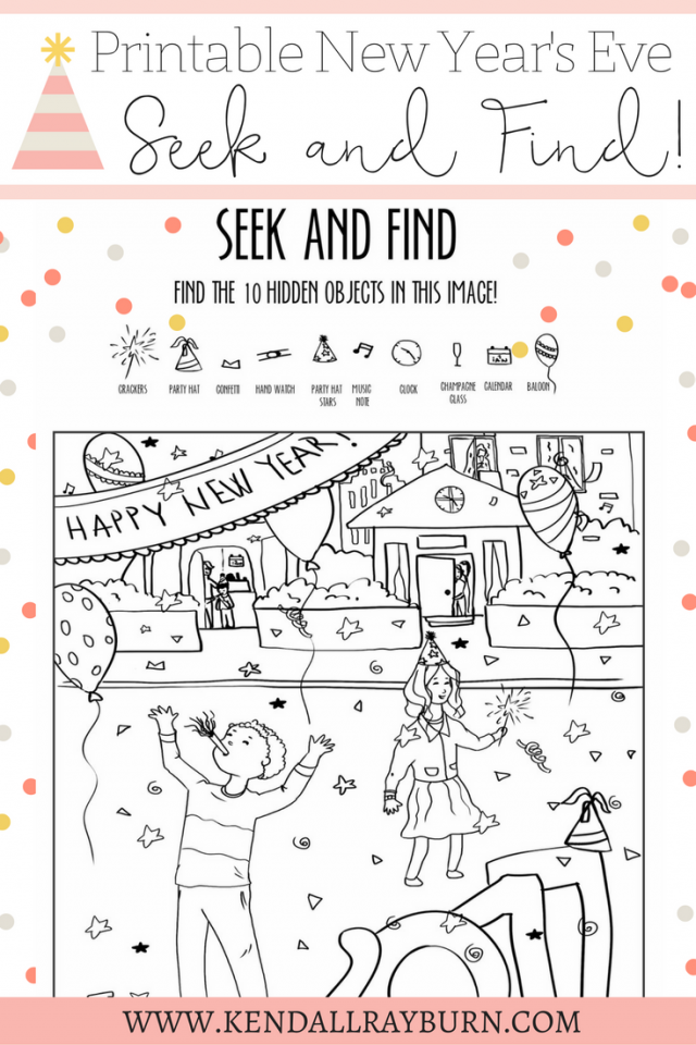 New Year\'s Eve Printable | Pinterest