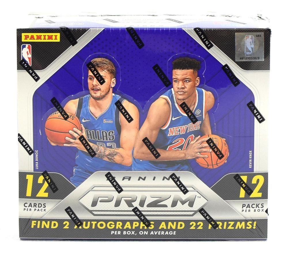 201819 panini prizm basketball hobby box trading card