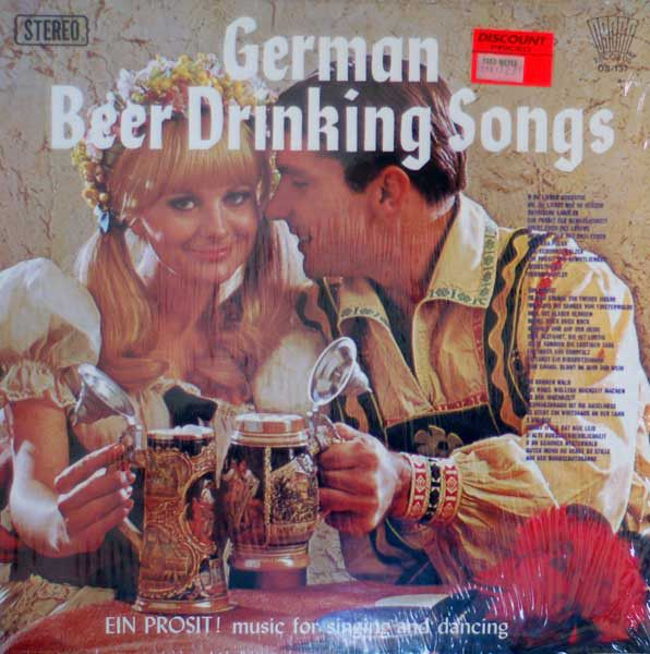a1acc3bc9fa6ed Unknown Artist - German Beer Drinking Songs (Vinyl