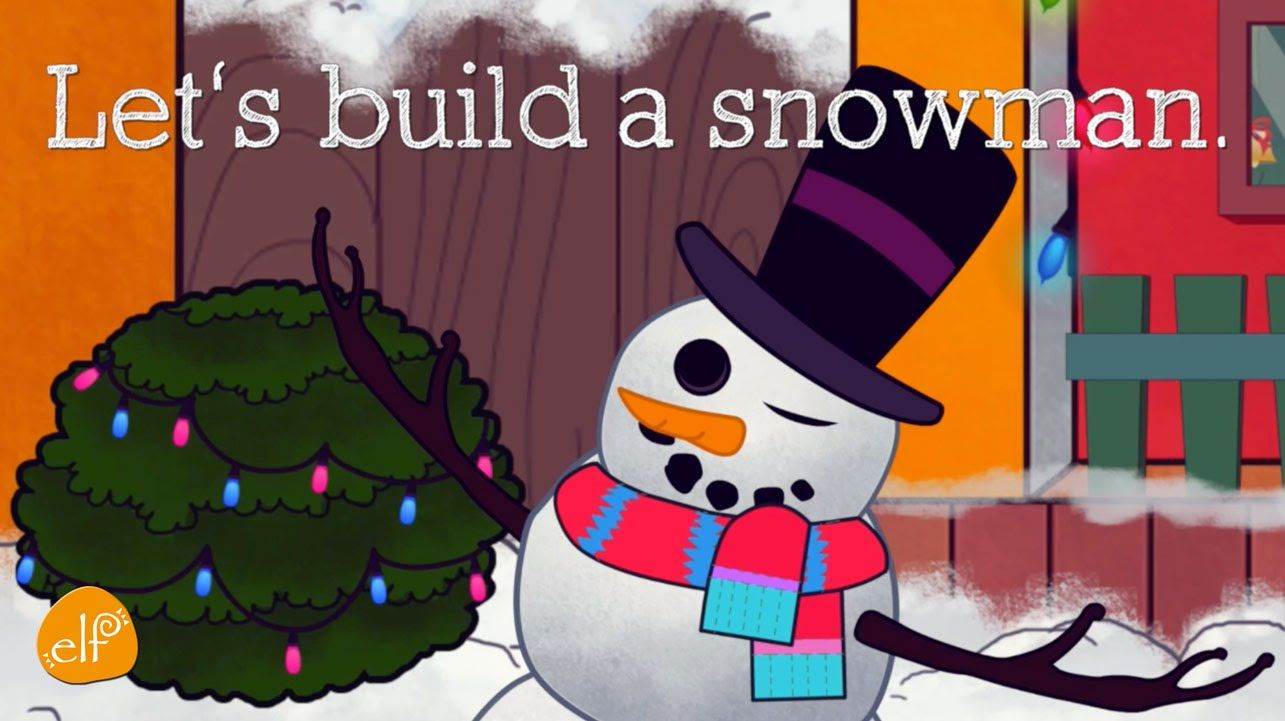 Let\'s Build a Snowman | Snowman Song and Christmas Song for Kids ...