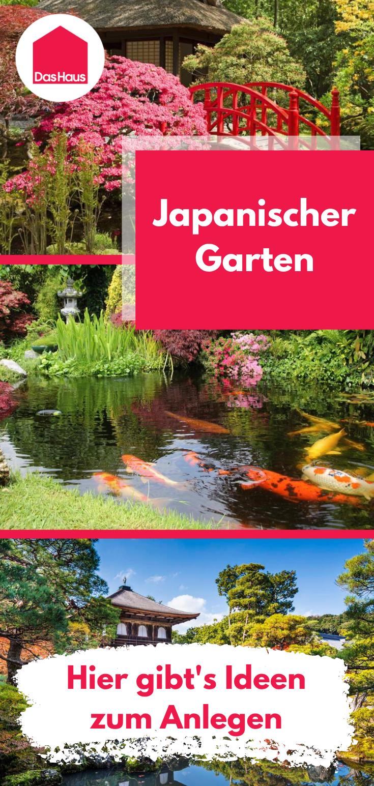 Japanischer Garten Elemente Regeln Und Tipps Das Haus Japanischer Garten Japanischer Garten Anlegen Garten