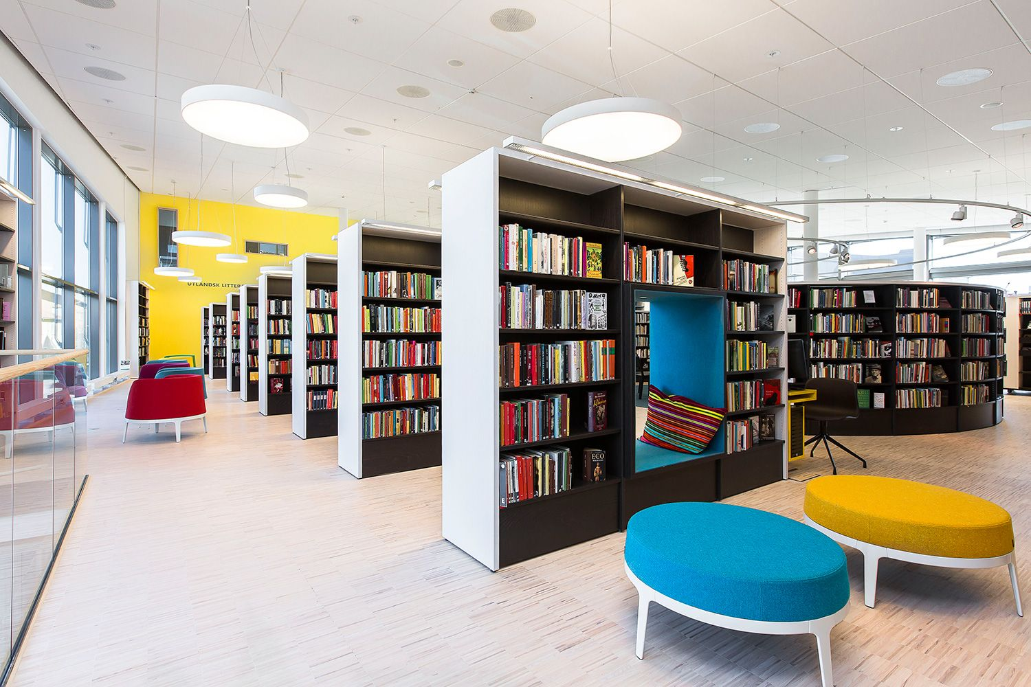 Great The Culture House In Vallentuna North Of Stockholm, Contains Special  Designed Interior Design Solutions With High Functionality And Quality U2013  Just As The ...