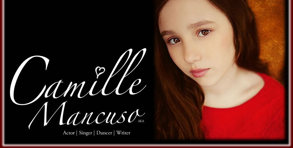 www.camillemancuso.com   Learn more about getting your own website at www.stagedoordesigns.com