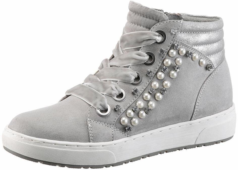 MARCO TOZZI Sneaker High in grau bei ABOUT YOU bestellen ...