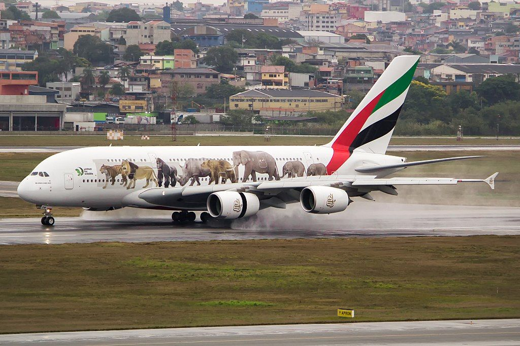 Emirates Fleet Airbus A380 800 Details And Pictures