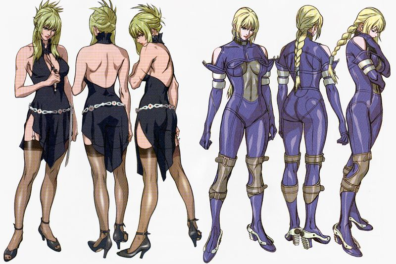 Character Design Degree Uk : Nina williams death by degrees roberto