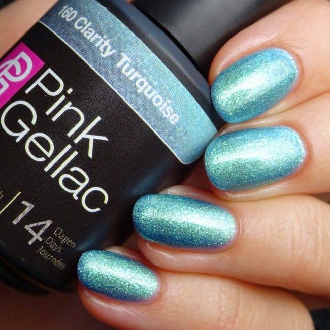 Pink Gellac 160 Clarity Turquoise Gel Nagellack Via Pinkgellac De Nagellack Gel Nagellack Nagellack Farben
