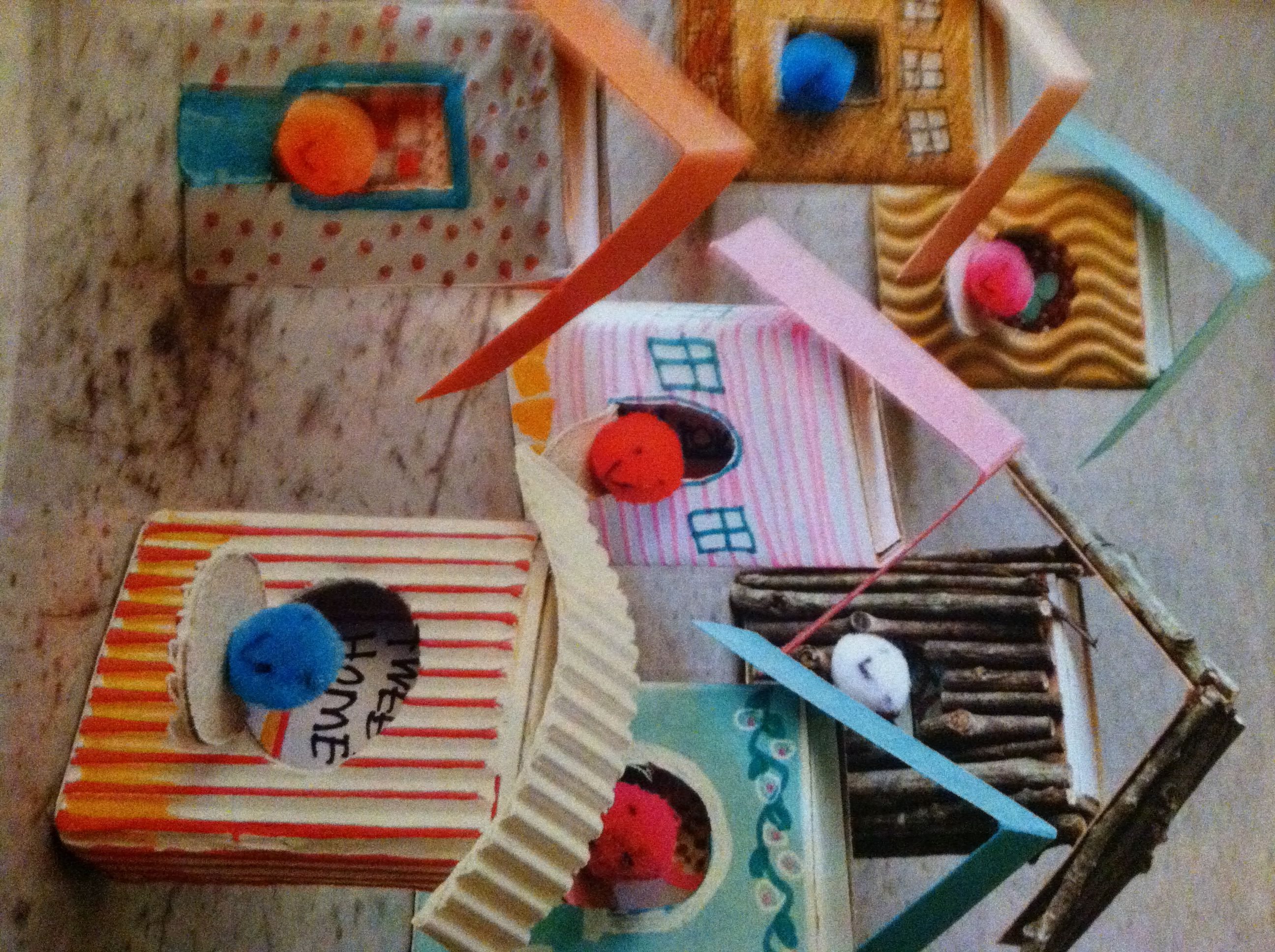 The wee matchbox birdhouse makes a perfect for a dollhouse for Blank matchboxes for crafts
