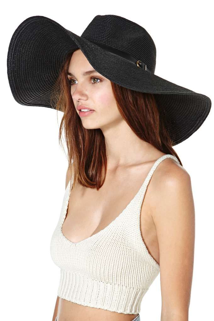 Someone can see this hat from space... ~ Let's Getaway Hat - Black
