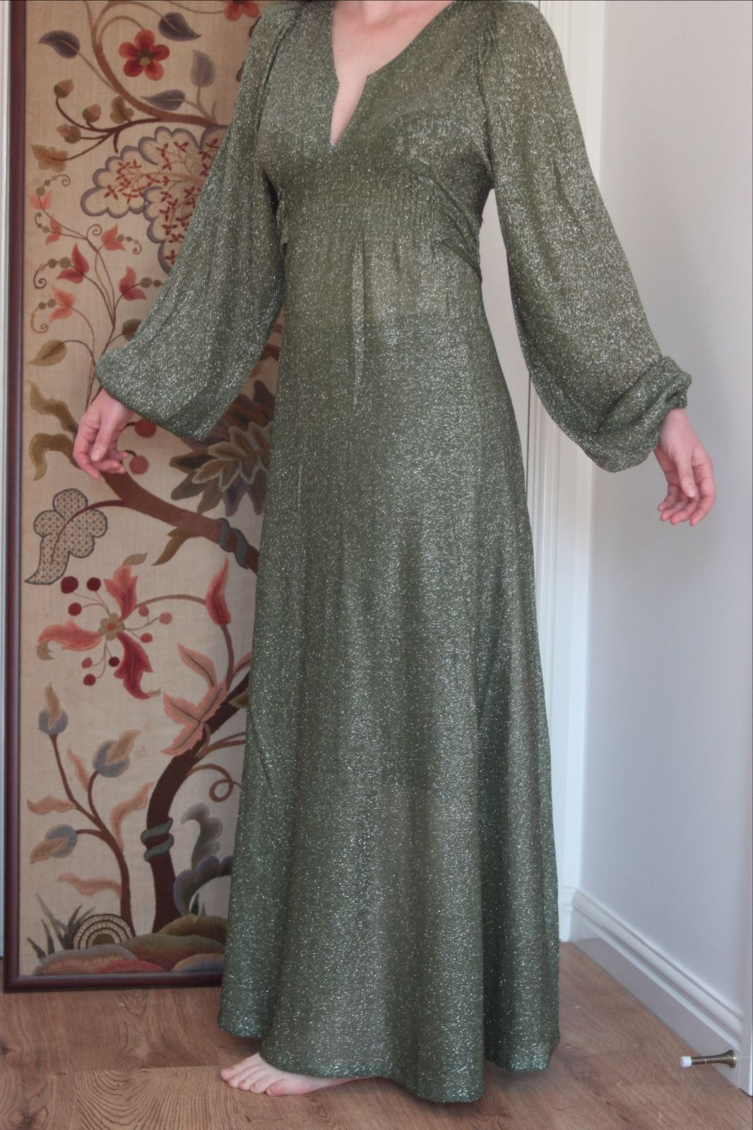 Ossie Clark for Radley evening dress Size 12 Green | eBay | couture ...