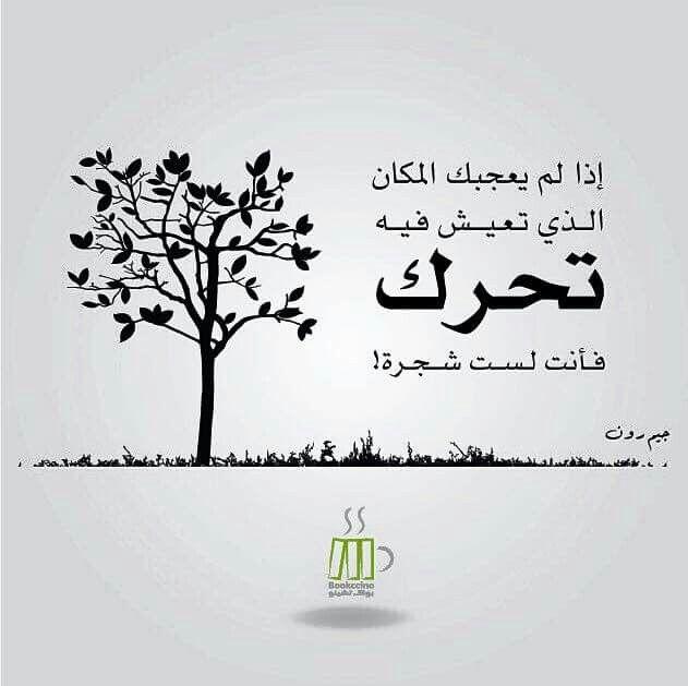 تحرك فانت لست شجره Talking Quotes Arabic Quotes Funny Words