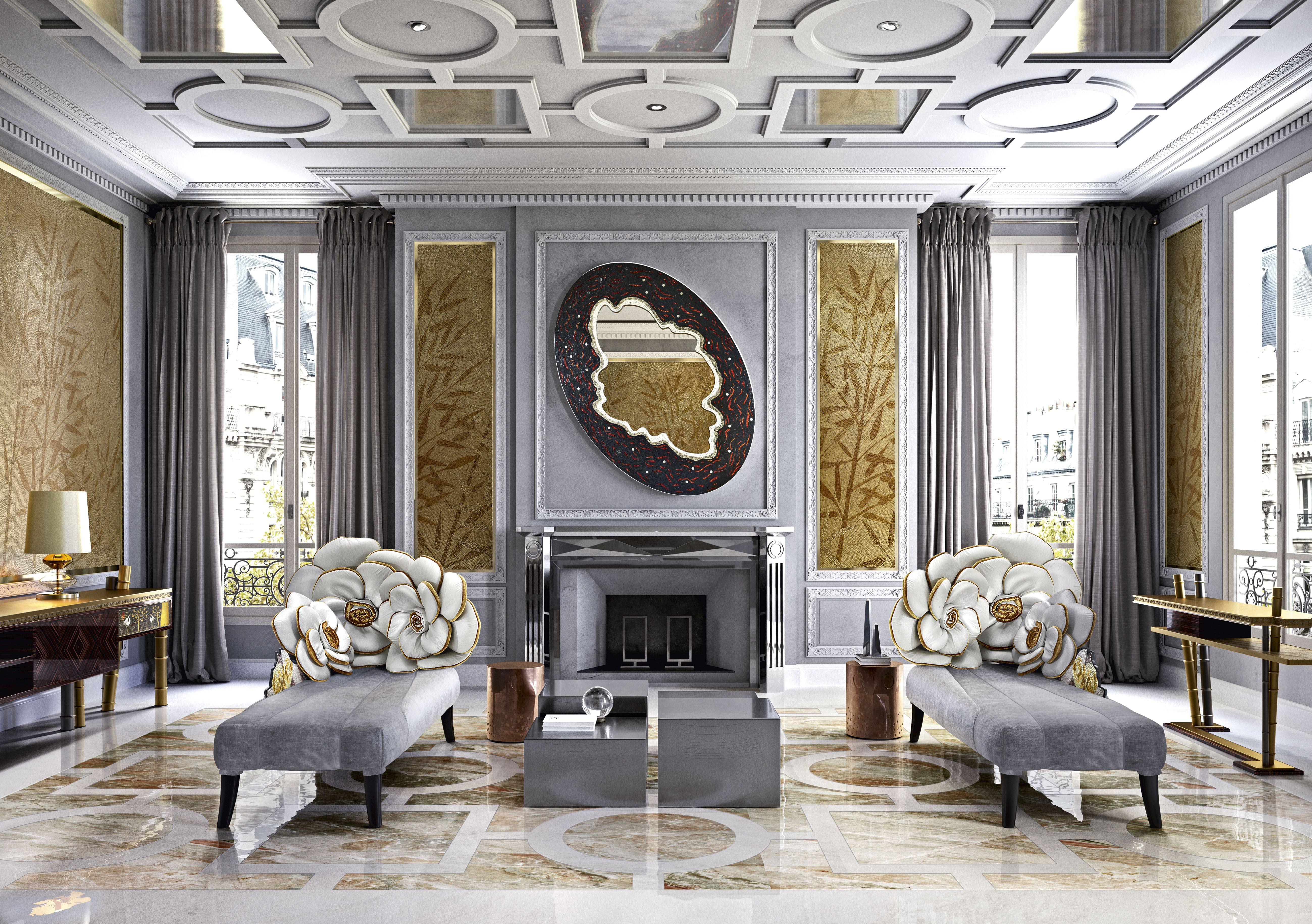 How to create a feature wall with photos - Design Idea Use Art Mosaic To Create Beautiful Feature Walls