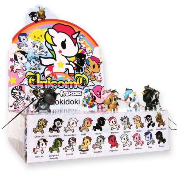Tokidoki Unicorno Frenzies Series 2 PVC Figure ~ Three Random Blind Boxes TK2121