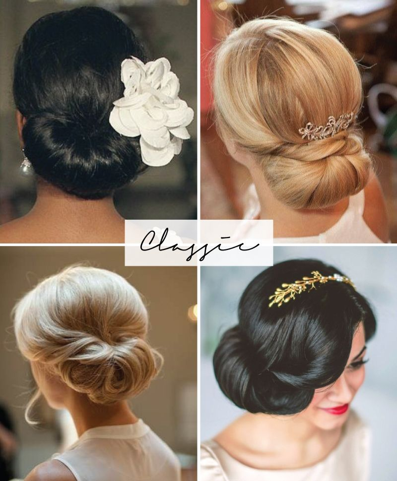 50 Style Wedding Hair: Wedding Updos Inspired By The 50s & 60s
