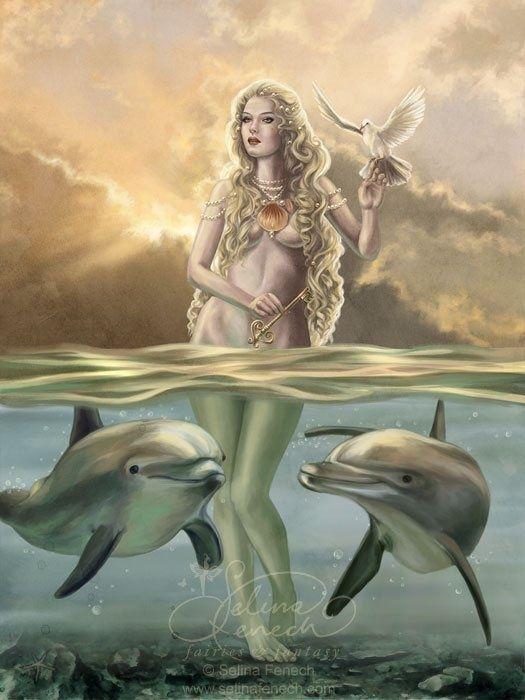 Selina Fenech Art   SELINA FENECH   Aphrodite goddess ...