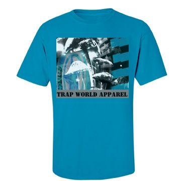 TWA - MushFlagLogo  SS T  | Trap World Apparel Mushroom Flag Logo Graphic Tee #trapworld #TWA #trapworldapparel