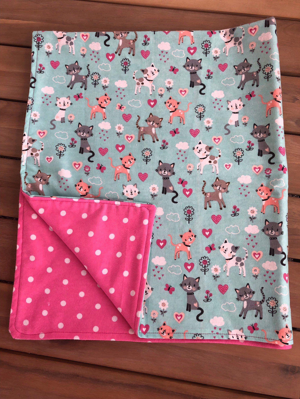Receiving blanket Stroller blanket Flannel baby blanket