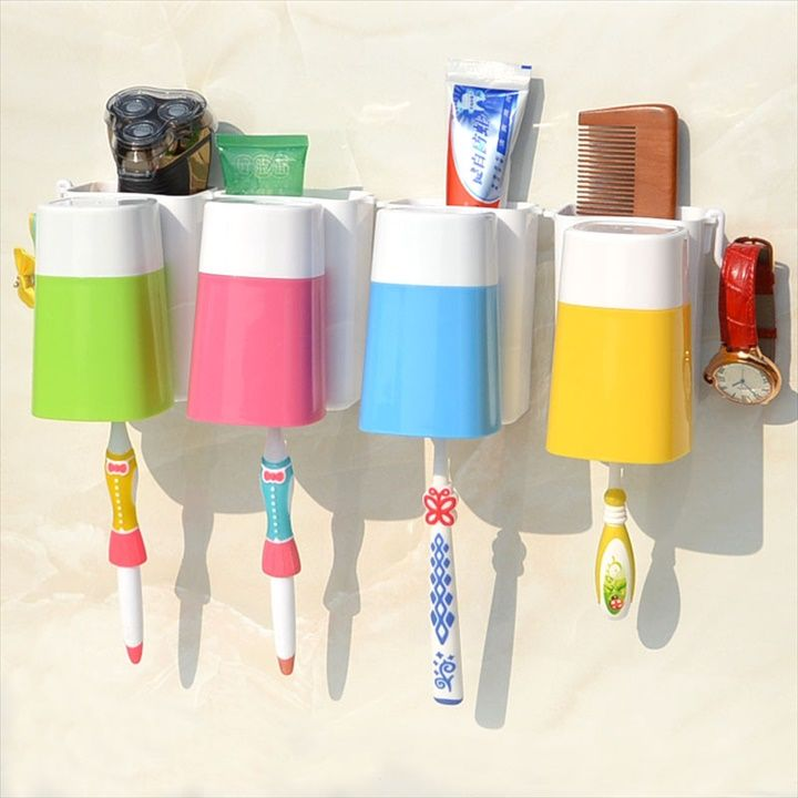 Wall Mounted Stick Toothbrush 24 Diy Toothbrush Holder Ideas Diy To Make Diy Toothbrush Holder Diy Toothbrush Brushing Teeth