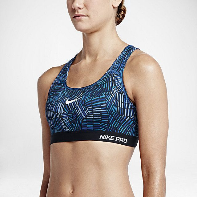 b772a6fdcc Nike Pro Classic Padded Tidal Multi Women s Sports Bra. Game Royal Chalk  Blue