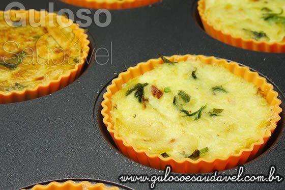 que delicia para o #jantar!  É a Quiche de Bacalhau sem Farinha, huumm, apetitosa, fácil e rápida de preparar e é #SemGluten!    #Receita aqui: http://www.gulosoesaudavel.com.br/2013/01/15/quiche-bacalhau-farinha/